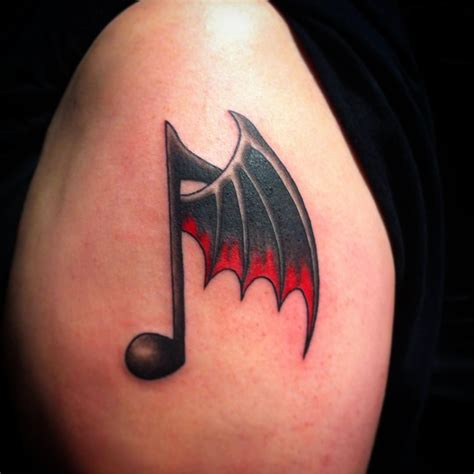 music sign tattoo design pin musical symbols tattoos on