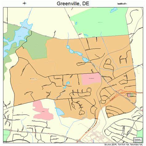 map of greenville greenville delaware map 1031430
