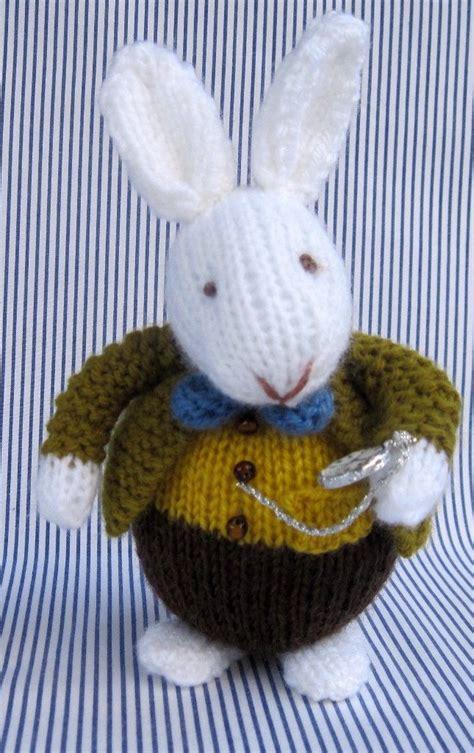 easy rabbit knitting pattern bunny rabbit knitting patterns in the loop knitting