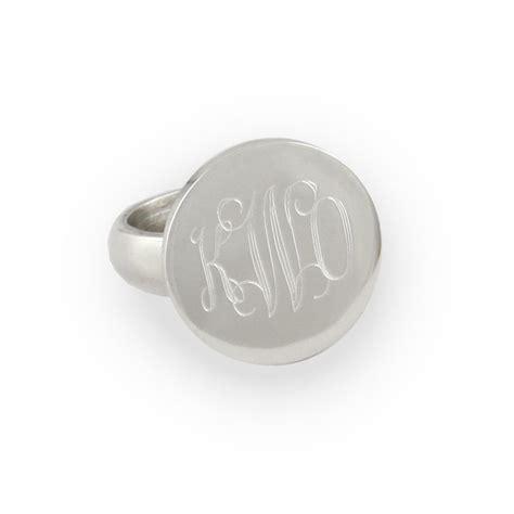 engraved sterling silver ring rosenberryrooms
