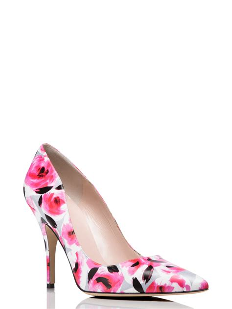 kate spade new york licorice heels in pink lyst