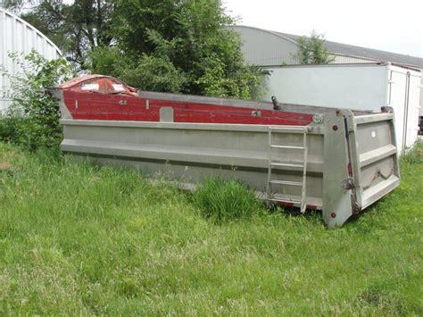 used dump beds used 20 aluminum dump body