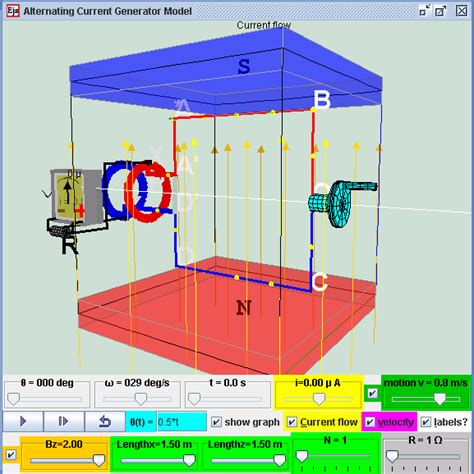 electromagnetic induction model open source physics singapore 3rd physics programme support ipsg