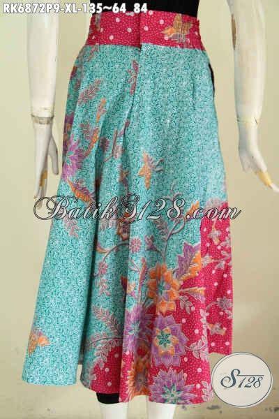 desain rok batik pendek rok batik modern bahan adem motif dan desain terkini pakai