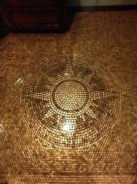 Penny Floor   contemporary   Floors   Minneapolis