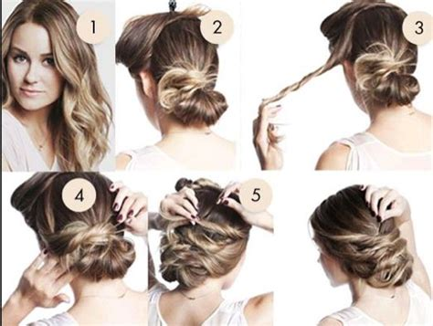 hairstyles buns step by step messy bun hairstyles step by step 3 nationtrendz com