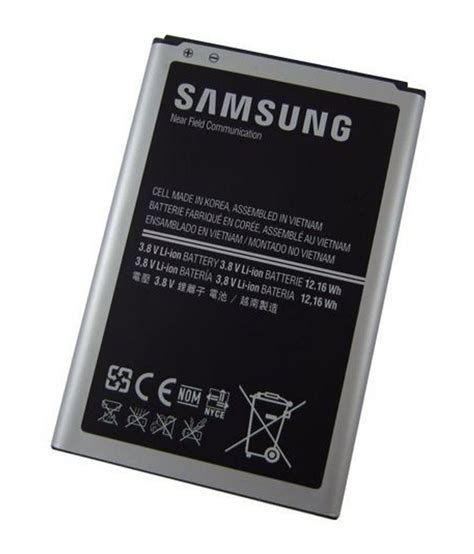 Batery Samsung Note 3 Original samsung galaxy note 3 n9005 b800be original battery