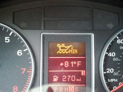 Oil For Audi A4 by Check Engine Oil Symbol Audiforums