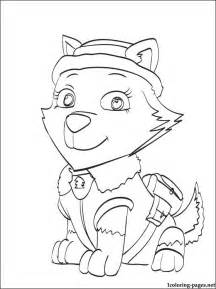 free paw patrol coloring pages free coloring pages of rider from paw patrol