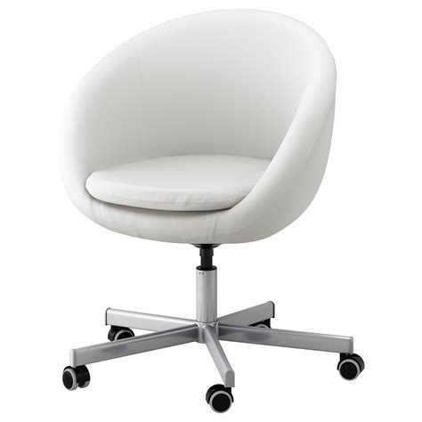 Skruvsta Swivel Chair Idhult White Ikea White Swivel Chair Ikea