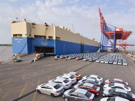 Car Shipping Ports by Apm Terminals Pipavav Starts New Ro Ro Service Yellow