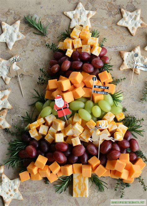easy holiday appetizer christmas tree cheese board home