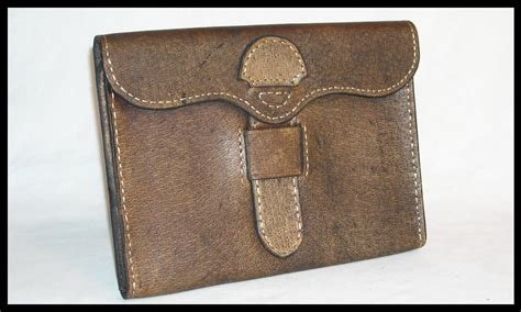 Vintage Leather by Vintage Leather Shop L Leather Flat Goods L Leather