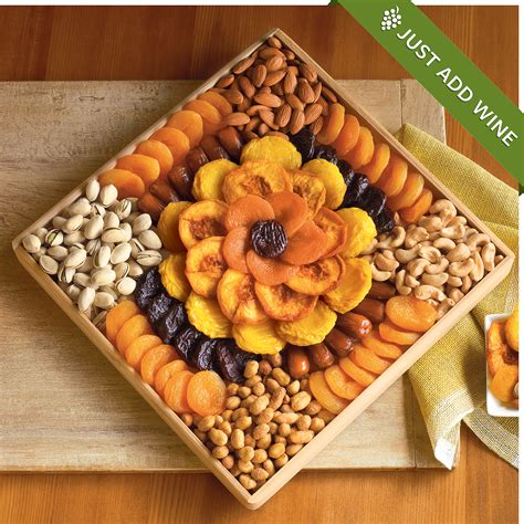 fruit and nut baskets gourmet dried fruit and nut snack gift dried fruit