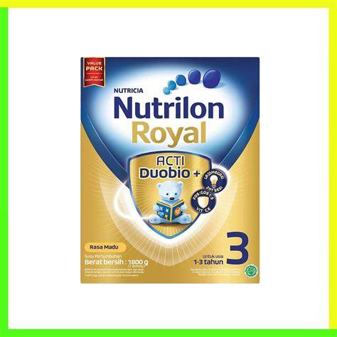 Nutrilon Royal 3 400 Gr nutrilon royal acti duobio 3 madu 400gr heron baby shop