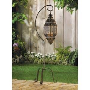 moroccan lattice iron candle cage outdoor indoor home
