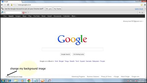 wallpaper for my google homepage internet guide how to change background image of google
