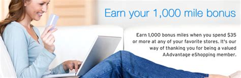 Shop And Earn Major With Aadvantage The Budget Fashionista by Earn 1 000 Bonus Aadvantage By Spending 35 In