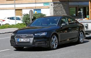 new 2016 audi s4 spied with barely any disguise by car