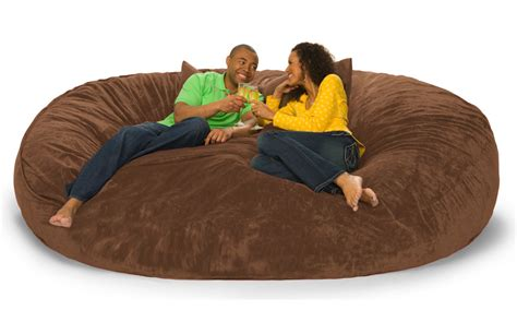 lovesac bigone 8 foot lovesac big one foam bag
