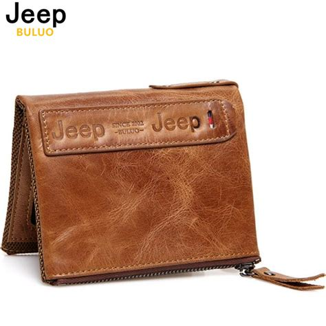 Buluo Jeep Original Brand Messenger Bags High Quality Casual Tas jeep buluo genuine leather bifold wallets coin purse vintage cowhide