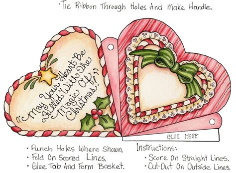 christmas heart card katilbalina printables pinterest