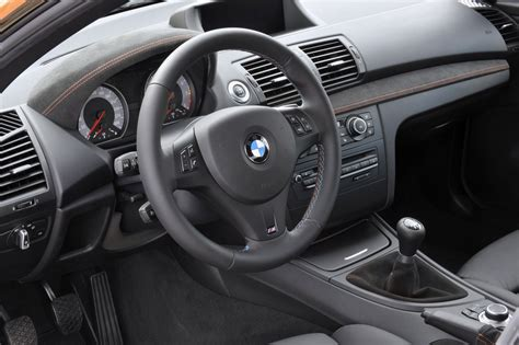 Bmw 1m Interior by Official 2012 Bmw 1 Series M Coupe