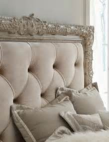 picture of styled framed tufted headboard