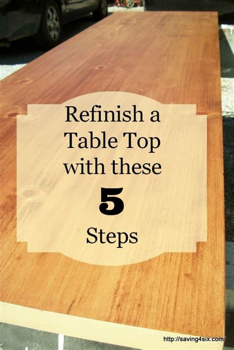 how to refinish a desk how to refinish a table or desk saving 4 six