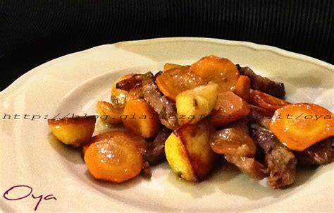 come cucinare le carote al forno straccetti di carne al forno con patate e carote ricetta