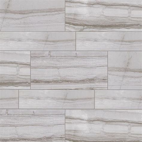 Tile Home Depot by Marazzi Vitaelegante Grigio 6 In X 24 In Porcelain Floor And Wall Tile 14 53 Sq Ft