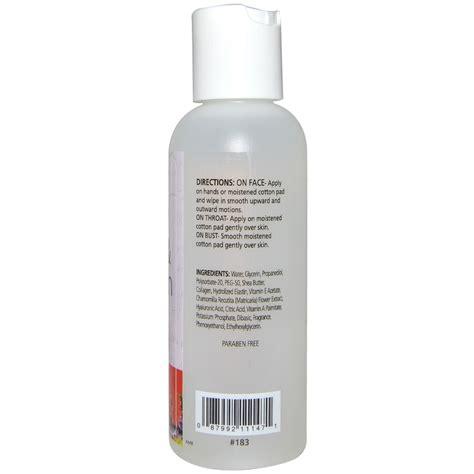 Toner Collagen reviva labs elastin collagen skin toner 4 fl oz 118
