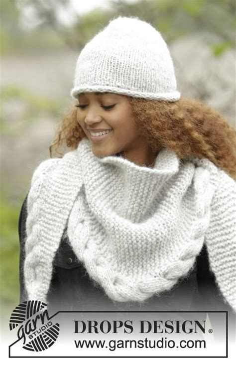 drops knitting patterns drops design winter and shawl on