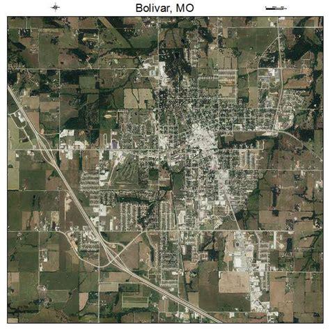 missouri map bolivar aerial photography map of bolivar mo missouri
