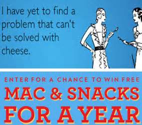Mac Sweepstakes - horizon organic free mac snacks for a year sweepstakes instant win game