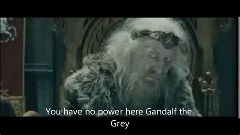 No Grey Here by You No Power Here Gandalf The Gray