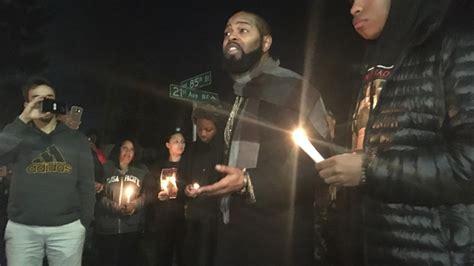 Vigil Held For Hudsons Slain Family Members by Family Friends Hold Vigil For Killed In Officer