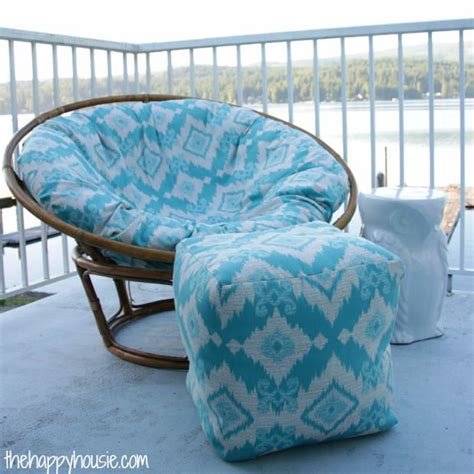 how to recover an ottoman without sewing how to reupholster run down furniture
