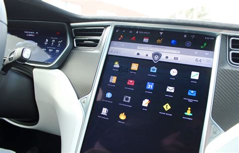 Tesla Touch Screen For Tesla Brings Smart Home Integration To The Model S