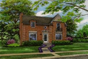 brick homes classicly brick home custom house portraits by