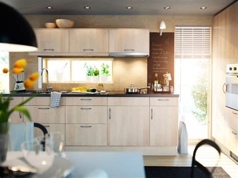 minimalist ikea kitchen cabinet selection in lighter tone for hygienic interior style ideas 4