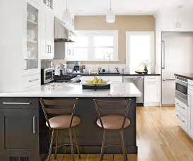 Kitchen Cabinets Two Colors Two Tone Kitchen Cabinets Design Ideas