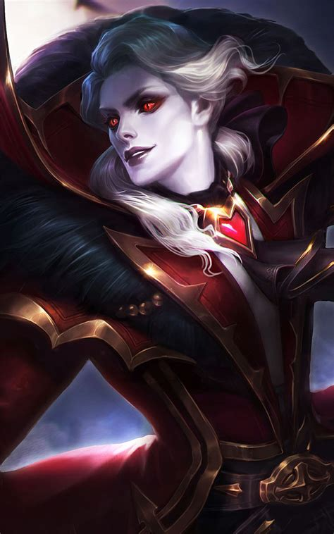 wallpaper mobile legend alucard viscount alucard mobile legends free 4k