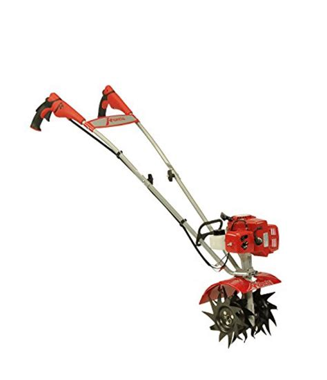 Mancis Gas mantis 7225 15 02 2 cycle gas powered tiller cultivator with border edger and kickstand carb