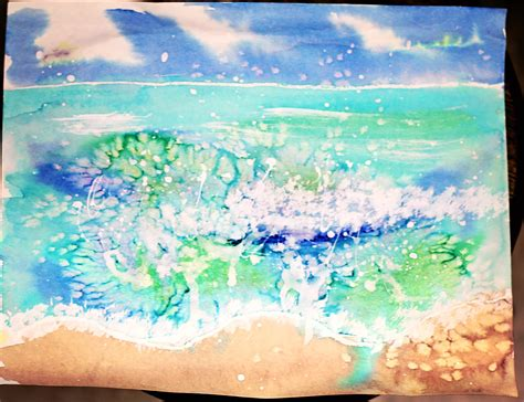 Splashy Water Colour 4 Tx smart class seascapes