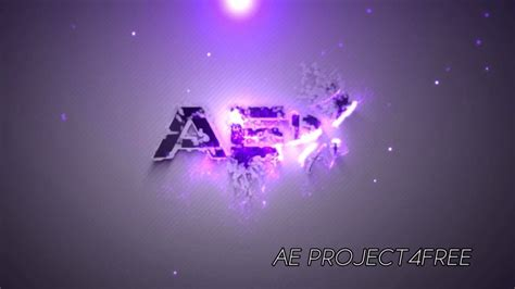 After Effects Project Free Particles House Logo Youtube After Effects Logo Templates