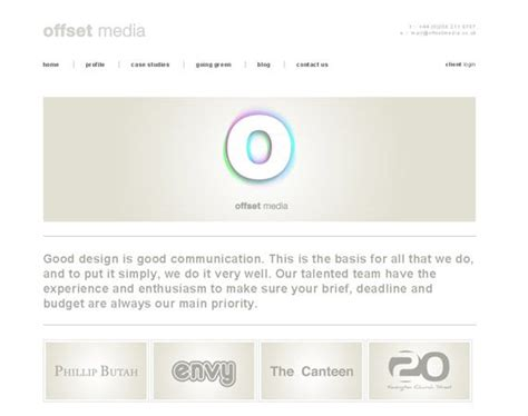 minimalist web design inspiration offset media minimalist web design inspiration webdesign