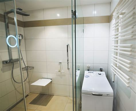 waschmaschine im bad kleines bad mit dusche unter 4 m 178 in 81476 m 252 nchen