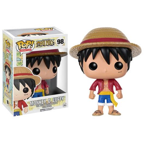 One Figure Luffy Pop Msib one monkey d luffy pop vinyl figure merchandise zavvi