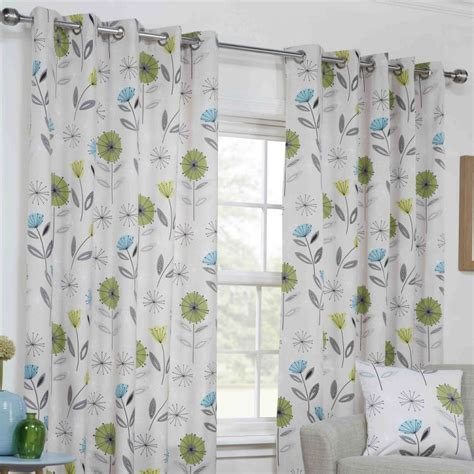 lime green floral curtains eyelet curtains floral green lime tonys textiles